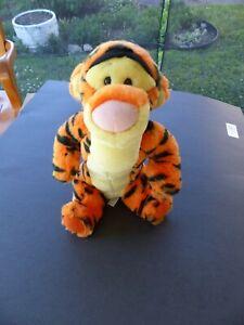 "Disney Tigger Collectible Plush Stuffed Animal Toy 2001 Fisher Price 10"""
