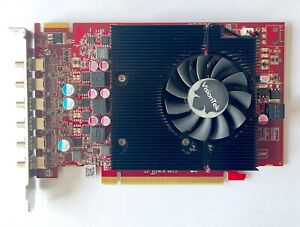 VisionTek Radeon VT 7750 x6 (6-Monitor) PCIe 2G Mini DisplayPort 6 Video Card