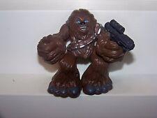 Star Wars Chewbacca 2001 Hasbro Galactic Heroes Figure With Gun