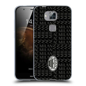 OFFICIAL AC MILAN CREST PATTERNS SOFT GEL CASE FOR HUAWEI PHONES 2