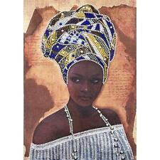5D DIY Special Shaped Diamond Painting Woman Cross Stitch Mosaic Craft Kits N#S7