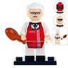 KFC Fried Chicken Man Lego Moc Minifigure, Brand New Gift For Kids