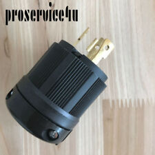 NEMA L5-30P Locking Plug, Rated for 30A, 125V L5-30 Plug Connector