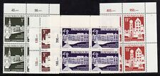LUXEMBOURG = 1975 Architectural Heritage set/4 in Marginal Blocks/4. MNH SG943/6