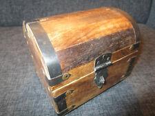 2. Wahl Schatzkiste Schatztruhe Truhe Holztruhe Holzbox Box 15x12x13 cm
