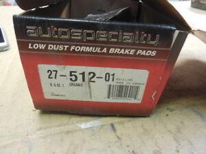 98 Eagle Vision Rear Disc Brake Pad Set 27-512-01 BP-43