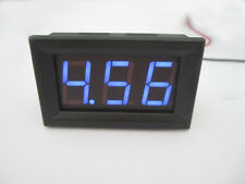 Digital MiNi 4.5-30V Blue LED Car Truck Voltmeter Gauge Voltage Volt Panel Meter
