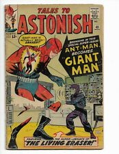TALES TO ASTONISH 49 - G/VG 3.0 - ANT-MAN BECOMES GIANT-MAN - WASP (1963)