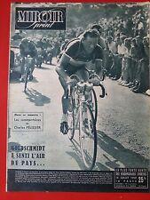 14/07/50  miroir sprint  n°TOUR DE FRANCE 1950 LES EQUIPES EN PHOTO GOLDSCHMIDT