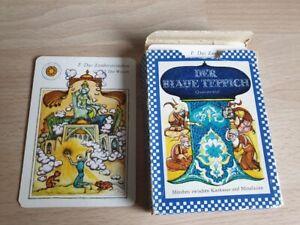 Kartenspiel   DDR, Der blaue Teppich  , Verlag für Lehrmittel Pössneck