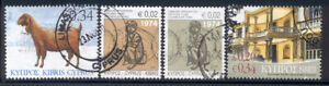 Cyprus - small lot of 4 used stamps from 2007-10 Lot # 9