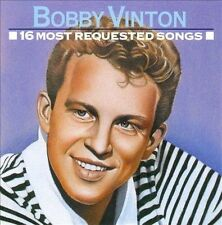 "BOBBY VINTON, CD ""16 MOST REQUESTED SONGS"" NEW SEALED"