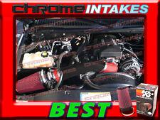 K&N+RED WB 99-07 CHEVY/GMC/CADILLAC TRUCKS 4.8L 5.3L 6.0L COLD AIR INTAKE KIT