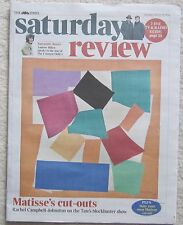 Matisse's cut outs – Times Saturday Review – 29 March 2014