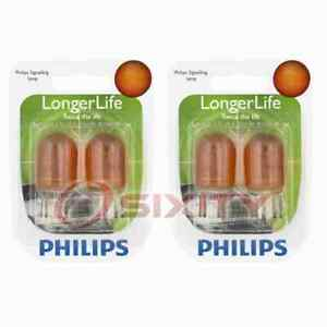 2 pc Philips Parking Light Bulbs for Ford EcoSport Escape Expedition F-150 rm