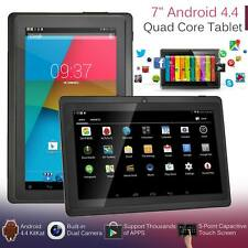 New 7 inch Android 4.4 Quad Core Tablet PC 8GB WIFI Bluetooth HD Touch Screen UK