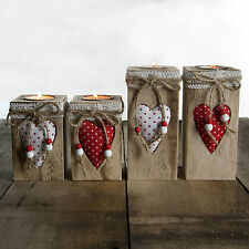 Heart Country Candle & Tea Light Holders