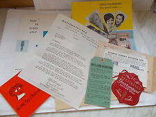 Large Collection of Paper Ephemera / Memorobilia Of KELVINATOR LTD From 1961