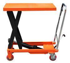 Scissor Lift Table SLT300 w/ 300KG Capacity & 4 Heavy Duty Castors  - VIC