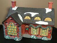 **Vintage Dept 56 STONEHURST HOUSE ORIGINAL SNOWHOUSE 1988 Lighted Christmas**