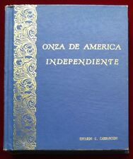 VINTAGE COIN ALBUM FOR CROWN SIZE COINS OF LATIN AMERICA