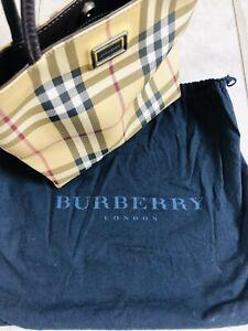 Authentic vintage BURBERRY nova check small bag handbag purse