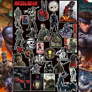 Maxwell Stickers - Metal Gear Solid Sticker Pack 30+ Laptop Skateboards Books