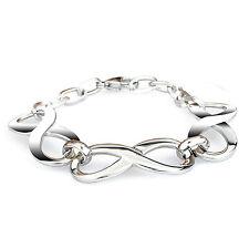 19,5cm Armband Armreif Armkette Kette Edelstahl Unendlichzeichen Lieben Infinity