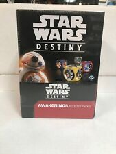 Star Wars Destiny AWAKENINGS booster box 36 packs FACTORY SEALED
