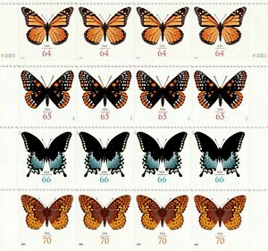 US Butterfly Stamps Variety Pack - 4 Designs, 4 Each # 4462 4603 4736 4859 MNH