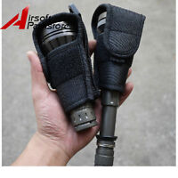 1pc Big Head LED Flashlight Torch Lamp Holster Pouch For JM26/TC500 Flashlight