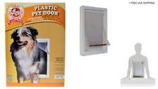 """Plastic Pet Door - Medium 15"""" H x 10.5"""" W"""