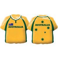 LARGE FOIL SUPERSHAPE BALLOON AUSTRALIA SHIRT QUALATEX FOIL BALLOON