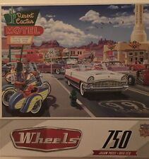 Drive Through on Route 66 MasterPieces Jigsaw Puzzle by Bruce Kaiser 750 Pieces