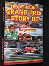 Orac Book Grand Prix Story 86 Gerhard Berger Der Weg zu Ferrari Prüller (D)