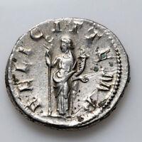 Roman coin SILVER Antoninianus Gordian III 238 - 244 AD FELICIT TEMP 7h