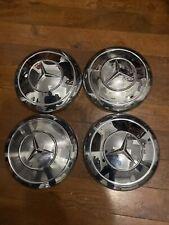 Vintage  Mercedes Hubcap Chrome W108 W109 W110 W111 W112 Ponton 190SL 230SL