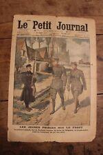 Petit journal dibujada 1293 1915 Jóvenes Príncipes Humbert De Leopold en el