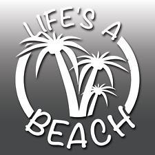 Life's a Playa Aventura Vinilo Autoadhesivo con Coche Divertido Caravana Moto Laptop