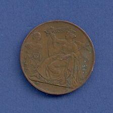Medal XXV Anniversaire de linaugeration du Roi Ø 28 mm 10 Size a16/68