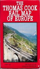 The Thomas Cook Rail Map of Europe (1992)