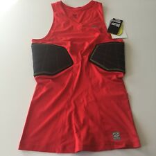 Nike Pro Combat Hyperstrong Basketball Padded Compression Shirt Red Xltall New