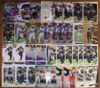 (46) ALVIN KAMARA FOOTBALL CARD LOT NICE!! WITH INSERTS, PARALLELS, PRIZM, +
