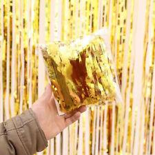 2016 Metallic Fringe Curtain Party Foil Tinsel Room Decor 2m*1m Door Wholesale
