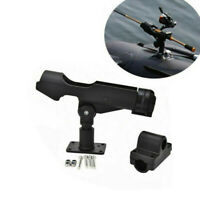 Adjustable Fishing Rod Pole Stand Bracket Mount Holder Kit For Canoe Kayak Boat