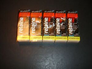5 OCUSOFT RETAINE PM NIGHTTIME OINTMENT NET WT 25G TOTAL,NEW SEALED READCOMMENTS