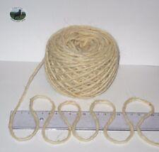 100g ball Thick Chunky Warm Cream 100% Wool British Breed knitting rug EFW 612