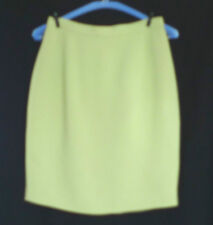 Upcycling - Vintage Alma apple green skirt - Size Italy 40 (UK 6)