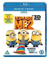 Despicable Me 2 (3D Edition with 2D Edition) [Blu-ray]
