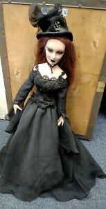 """Vixens of the Underworld - Gothic Porcelain Doll - Limited Edition 20"""" BB723"""